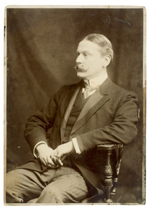 Portret van Josua Marius Willem van der Poorten Schwartz (1858-1915)