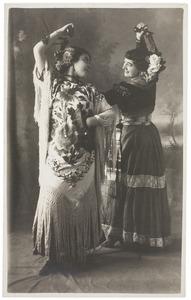 Portret van Eugenia Matilda Pantaleona del Campo y Vilches (1874-1935) en M.L. Rubio Amoedo (...-...)