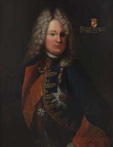 Portret van Alexander Bernhard van Spaen (1669-1745)