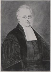 Portret van Johannes Henricus van IJssel Groothuis (1799-1869)