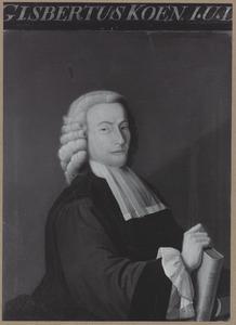 Portret van Gijsbert Koen (1736-1767)