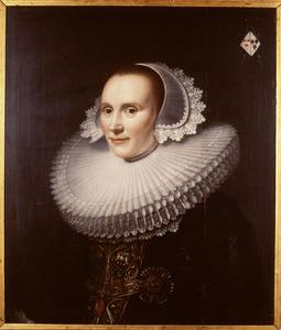 Portret van Maria Graswinckel (1600-1665)