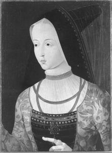 Portret van Maria van Bourgondië (1458-1482)
