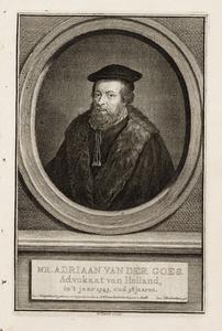 Portret van Adriaan van der Goes (1505-1560), landsadvocaat van Holland