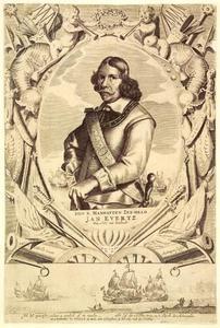 Portret van Jan Evertsen (1600-1666)