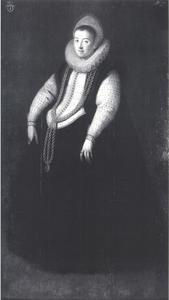 Portret van Anna Glaser, echtgenote van Peter van Berchem