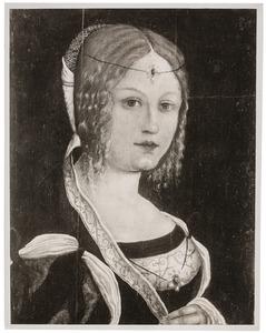 Portret van een Italiaanse vrouw