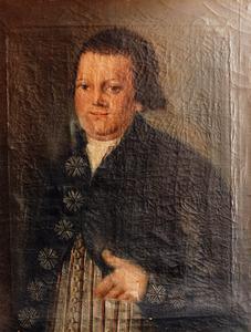 Portret van Willem van Lookeren (1761-1798)