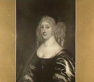 Portret van Catharina Wijnina van Rijn (....-1703)