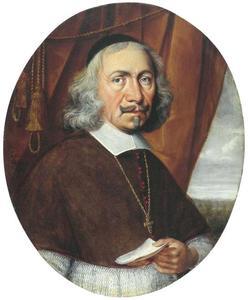 Portret van prins bisschop van Münster  Christoph Bernhard von Galen (1606-1678)