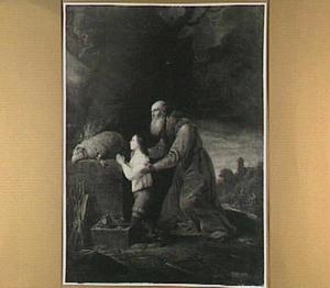 Het dankoffer van Abraham en Isaak (Genesis 22:13-14)