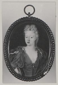 Portret van Eleonore Margarethe van Hessen -Homburg (1679-1763)
