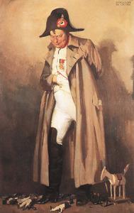 Portret van Napoleon Christiaan de la Mar (1878-1930)