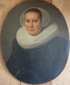 Portret van een 49-jarige vrouw