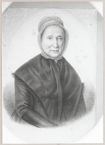 Portret van Wilhelmina Cornelia de Bruyn (1759-1854)