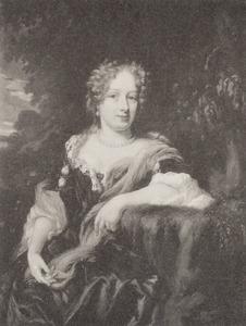 Portret van Maria Reyniers (1654-1721)