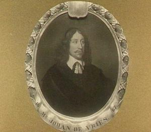 Portret van Johan de Vries (....-1674)