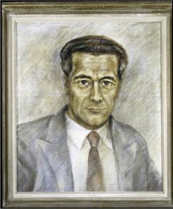 Portret van W.G. (Wilhelmus Gerardus) Vegting  (1902-1956)