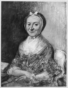 Portret van Josepha Christina Clara Strick van Linschoten (1730-1803)