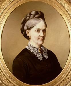 Portret van Jacoba Elizabeth Rouffaer (1820-1878)
