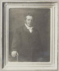 Portret van Joannis Jacobus Arent Santhagens (1798-1867)