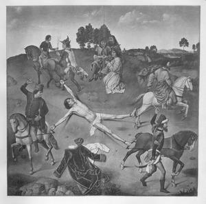Het martelaarschap van de H. Hippolytus