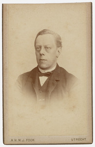 Portret van Johan Adriaan Wichers (1841-1893)