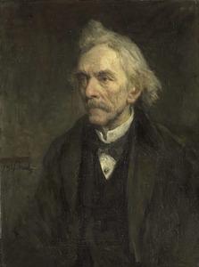 Portret van Jacques Louis Veltman, acteur (1817-1907)