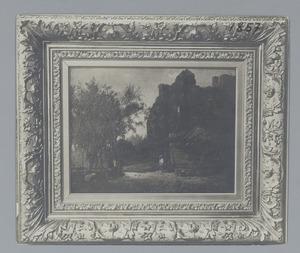 De ruïne van kasteel Brederode