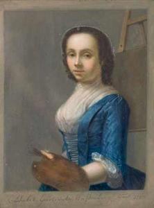 Portret van Elisabeth Geertruida Wassenbergh (1729-1781)