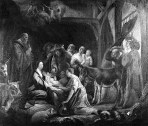 De aanbidding der herders (Lukas 2:8-20)