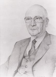 Portret van Jan Gonda (1905- )