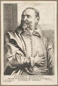Portret van Jan Snellinck I (....-1638)