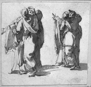 Vier staande vrouwen