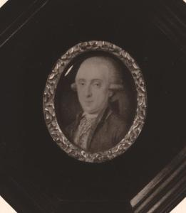 Portret van Johan van den Brandeler (1756-1820)