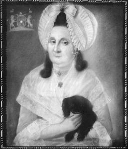 Portret van Adriana Bernardina Agatha d' Ablaing van Giessenburg (1734-1794)
