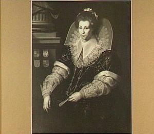 Portret van een vrouw, mogelijk Deliaentje van der Woert (?-1625)