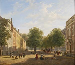 Het Korte Voorhout te Den Haag