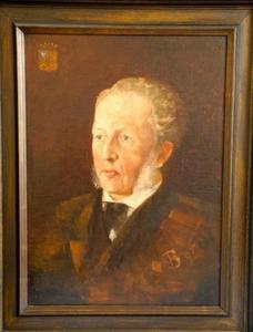 Portret van Hendrik Teding van Berkhout (1830-1904)