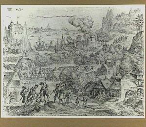 Een belegerde kuststad