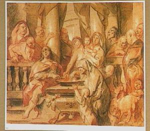 Het penningske der weduwe (Marcus 12:41-44)