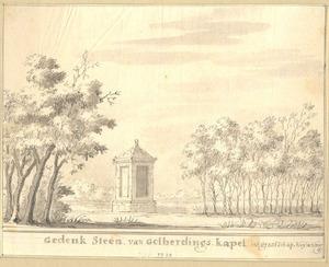 Gedenksteen voor de kapel van Goilberdingen