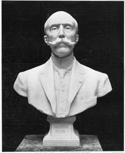 Portretbuste van Melchior Treub (1851-1910), bestemd voor 's Lands Plantentuin te Buitenzorg (Java)
