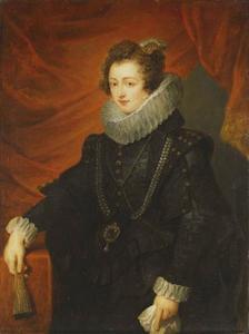 Portret van Elisabeth van Bourbon (1602-1644), vrouw van Philips IV van Spanje