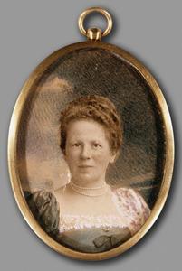 Portret van Wilhelmina Florentina Kol (1856-1927)