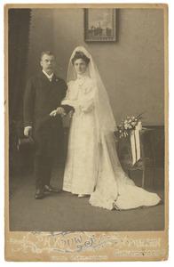 Portret van een echtpaar, familie Opsomer