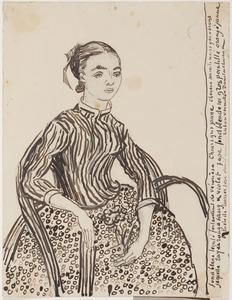 Portret van een jong meisje (La Mousmé)