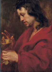 De apostel Johannes de Evangelist