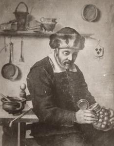 Portret van een man genaamd Jacob Jansz. Graswinckel (1536-1624)