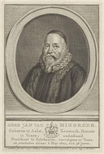 Portret van een man, waarschijnlijk  Jacob van Miggrode (1573-1645)
